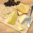 cheese board&quot — Stock Photo