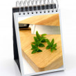 A Frame Cookbook — Stock Photo