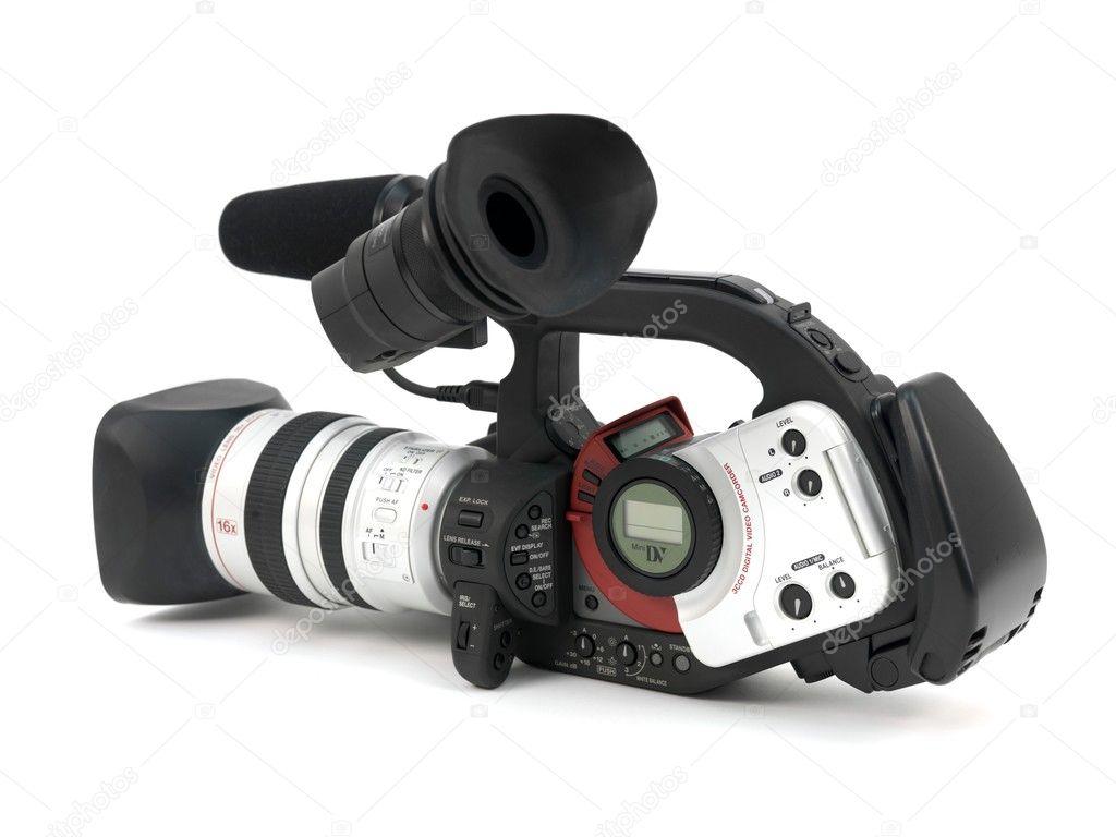 professional video camera � stock photo 169 kitchbain 3712343