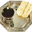 Symbols of Passover - Stock fotografie