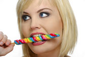 Candy girl — Stock Photo