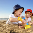 Stockfoto: Fun at the beach