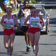 Comrades Marathon 2010 - Ladies top two — Stock Photo