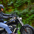 Motorbike man has freedom — Stock Photo #3917220