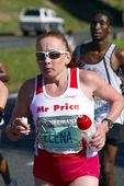 Comrades Marathon 2010 - Elena Nurgalieva — Stock Photo