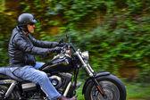 Moto hombre tiene libertad — Foto de Stock