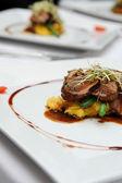 Delicious roast lamb — Stock Photo