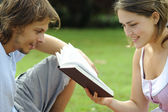 Let me read to you — Stock Photo