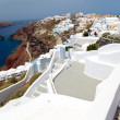 Santorini  island in Greece - Stockfoto