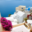 santorini island in greece — Stock Photo