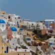 Santorini  island in Greece - Stock Photo