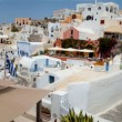 Santorini panoramic view OIA — Stockfoto