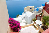 Santorini island in Greece — 图库照片