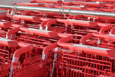 Shopping cart rhythm — Stock Photo