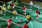 Table football shot — Stock Photo