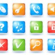Royalty-Free Stock Imagen vectorial: Internet buttons collection 2