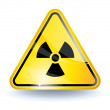 Royalty-Free Stock Vector Image: Radiation sign