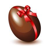 Chocolate Egg — Stock Vector