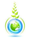 Living Earth — Stock Vector