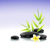 Zen bakgrunden — Stockvektor