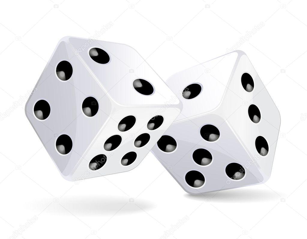 dices stock vector  u00a9 tiloligo 2855177 playing card vector images playing card vector pattern