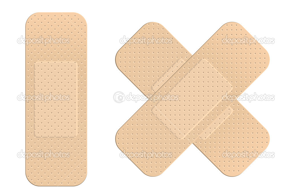 First aid plasters  Stock Vector #2855277