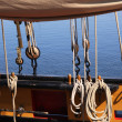 Ship rigging - Foto Stock