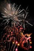 Finale fireworks — Stock Photo