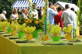 Festa in giardino — Foto Stock