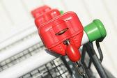 Shopping carts detail — Stock Photo