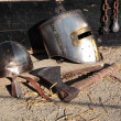 Middle ages theme — Stock Photo