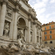 Trevi fountain in Rome - ストック写真