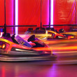 Stock Photo: Bumper cars