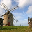 Windmill of Cherrueix — Stock Photo