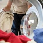 Preparation for washing — Stock Photo