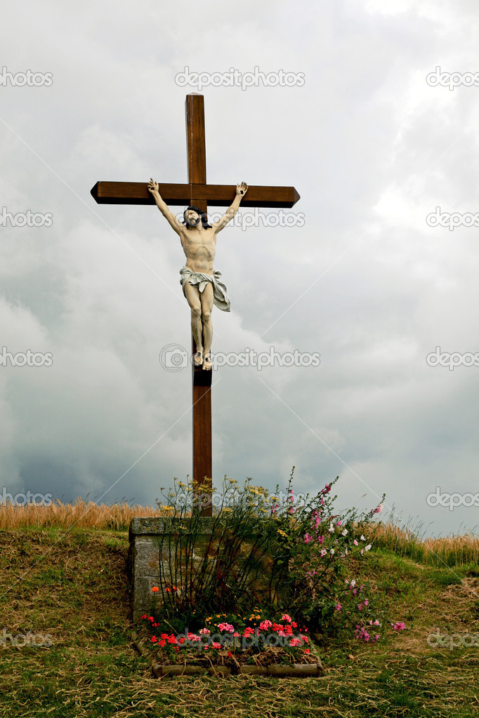 Jesus Christ on the cross — Stock Photo #2912042