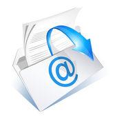 E-posta okumak için — Stok Vektör