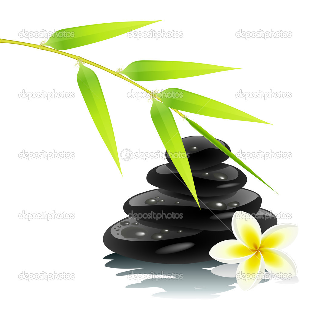 Ambiente Zen — Vetor de Stock © tiloligo #3184270