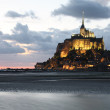 Mont-Saint-Michel, panoramic view — Stock Photo