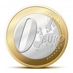 0 Euro coin — Stock Vector #3256047