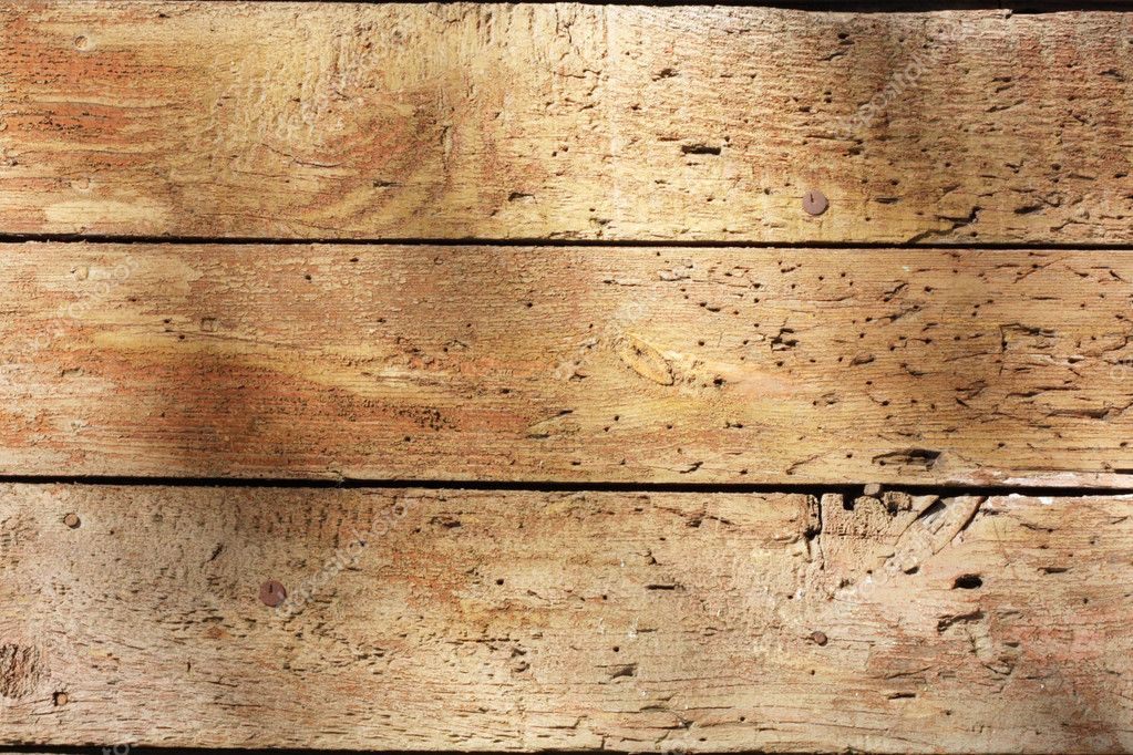 Old Weathered Wooden P...