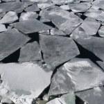 mořského ledu v Antarktidě — Stock fotografie