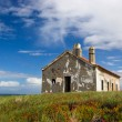 Abandoned house close to the sea - Foto Stock