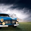 Old blue car — Stock Photo #4072462
