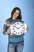時計女性 — ストック写真