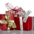 Stock Photo: Gifts Boxes