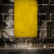 Stock Photo: Yellow grunge background