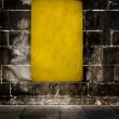Yellow grunge background - Stockfoto