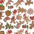 Gingerbread cookies — Stock Photo #4938192