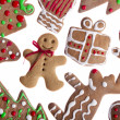 Gingerbread cookies — Stock Photo #4938197